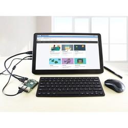 Raspberry Pi 15.6'' 1920 x 1080 HDMI Dokunmatik IPS LCD(H) Ekran Koruma Kasalı - Thumbnail