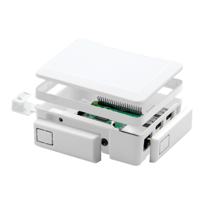 Raspberry Pi 2/3 Beyaz Kutu