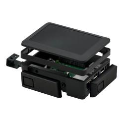 إطار توسيع لون أسود - لعلبة حماية راسبيري باي 3 و 2 القابلة للتعديل - Thumbnail