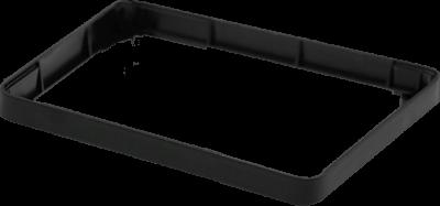 إطار توسيع لون أسود - لعلبة حماية راسبيري باي 3 و 2 القابلة للتعديل