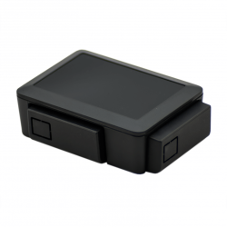 Raspberry Pi 2/3 Case Black - Thumbnail