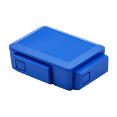 علبة -كفر- راسبيري باي 3 و 2 قابل للتعديل - أزرق