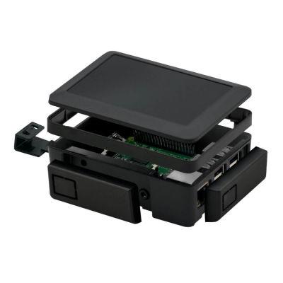 Raspberry Pi 2/3 Kutu Yükseltme Aparatı Siyah