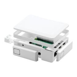 Raspberry Pi 2/3 Modular Case White Spacer - Thumbnail