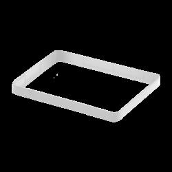 ModMyPi - إطار توسيع لون أبيض - لعلبة حماية راسبيري باي 3 و 2 القابلة للتعديل
