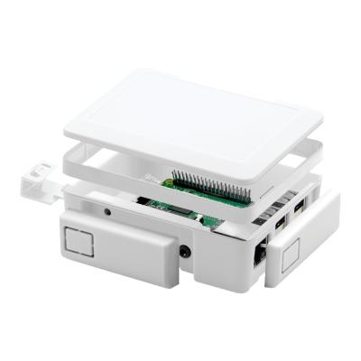 إطار توسيع لون أبيض - لعلبة حماية راسبيري باي 3 و 2 القابلة للتعديل