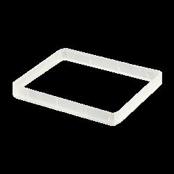ModMyPi - إطار توسيع شفاف - لعلبة حماية راسبيري باي 3 و 2 القابلة للتعديل