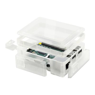 إطار توسيع شفاف - لعلبة حماية راسبيري باي 3 و 2 القابلة للتعديل