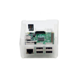 Raspberry Pi 2/3 Şeffaf Kutu - Thumbnail