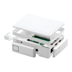 Raspberry Pi 2/3 White Case - Thumbnail