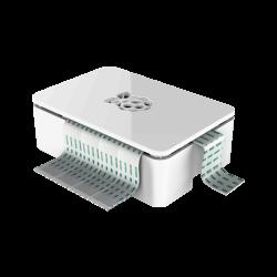SAMM - علبة حماية لون أبيض لراسبيري باي 2 و B+