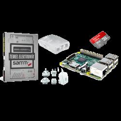 Raspberry Pi - Raspberry Pi 2 Mini Kit with Basic electronics book