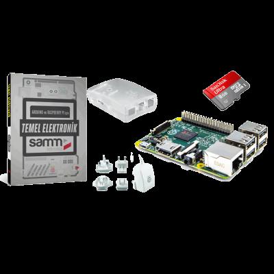 Raspberry Pi 2 Mini Kit with Basic electronics book
