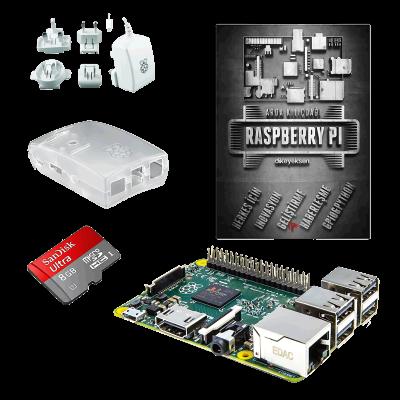 Raspberry Pi 2 Mini Kit + Raspberry Pi Book (Turkish)