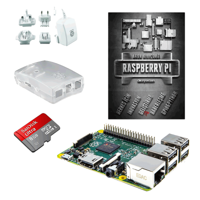 Raspberry Pi 2 Mini Kit + Raspberry Pi Kitabı (Türkçe)