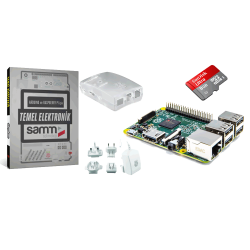 Raspberry Pi - Raspberry Pi 2 Mini Kit ve Elektronik Kitabı