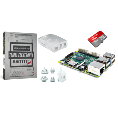 Raspberry Pi 2 Mini Kit ve Elektronik Kitabı
