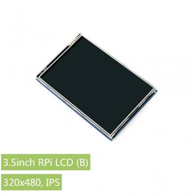 Raspberry Pi 3.5'' 480 x 320 Dokunmatik IPS LCD (B) Ekran