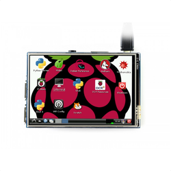 Raspberry Pi 3.5'' 480 x 320 Dokunmatik IPS LCD (B) Ekran - Thumbnail