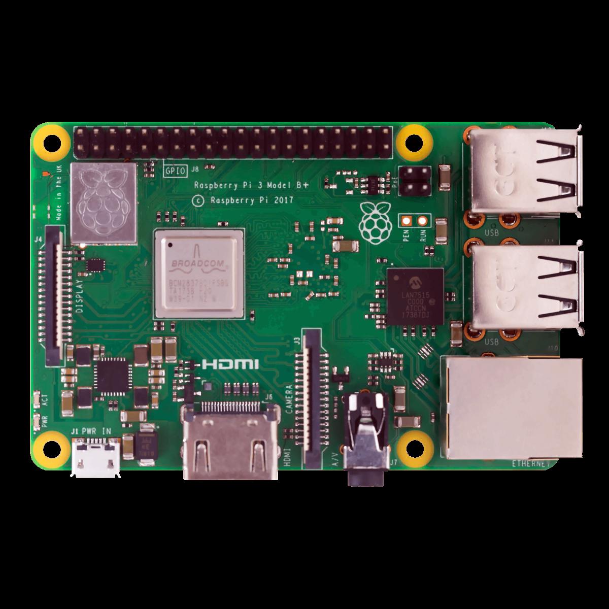 Raspberry Pi 3 B+  204ba14ba184