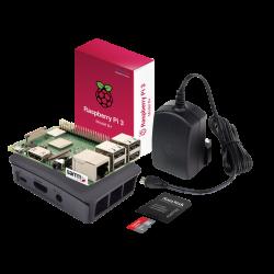Raspberry Pi - Raspberry Pi 3 B+ Starter Kit-Siyah