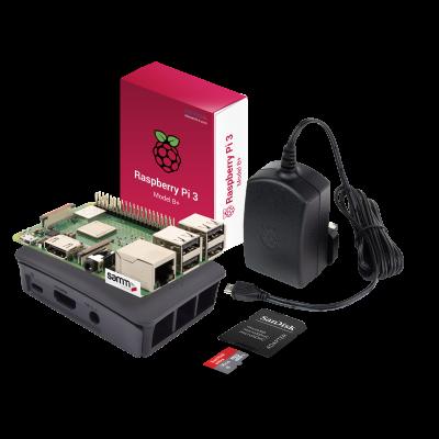Raspberry Pi 3 B+ Starter Kit-Siyah
