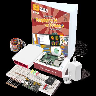 Raspberry Pi 3 Çocuklar için Mini Kit