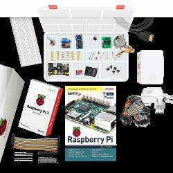 Raspberry Pi - حزمة المعدات الاكترونية الكاملة لـ RaspBerry Pi 3 p