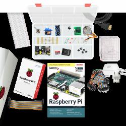 Raspberry Pi - حزمة المعدات الاكترونية الكاملة لـ Raspberry Pi 3