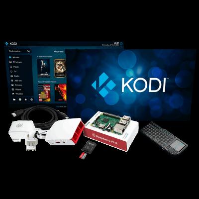 Raspberry Pi 3 Media Centre Kit
