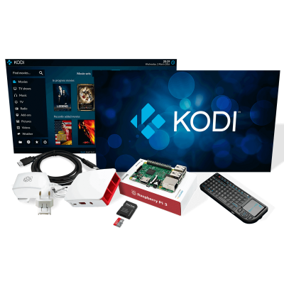 Raspberry Pi 3 Medya Center Kiti