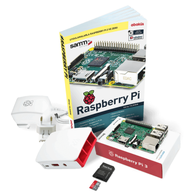 Raspberry Pi 3 Mini Kit + Uygulama Kitabı