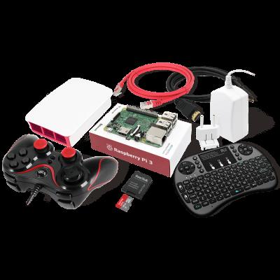 Raspberry Pi 3 RetroPie Gaming Kit حزمة اللعب من راسبيري باي 3