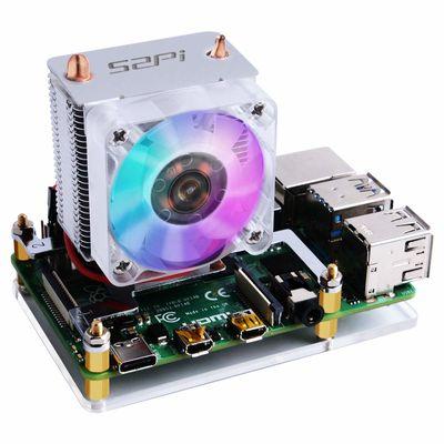 Raspberry Pi 3 ve 4 İçin ICE Tower CPU Soğutucu Fan