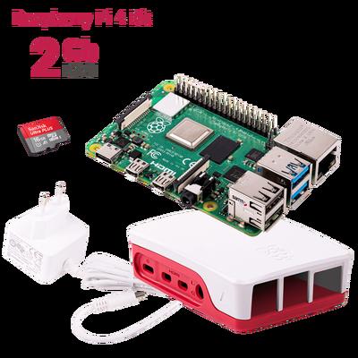 Raspberry Pi 4 - 2 GB Starter Kit