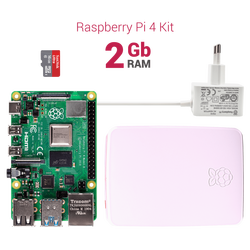 Raspberry Pi 4 - 2 GB Starter Kit - Thumbnail