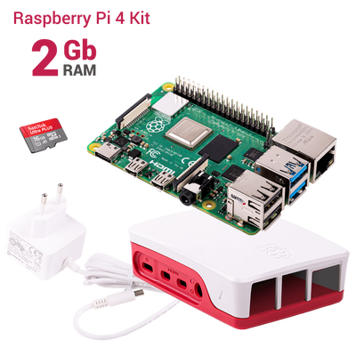 Raspberry Pi 4 2GB Starter Kit
