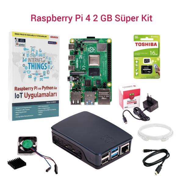 SAMM - Raspberry Pi 4 2GB Süper Kit