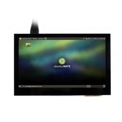Raspberry Pi 4.3'' 800 x 480 Touchscreen IPS LCD (B) Display - Thumbnail
