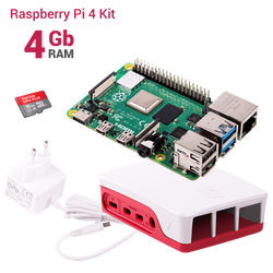 Raspberry Pi - Raspberry Pi 4 - 4 GB Starter Kit