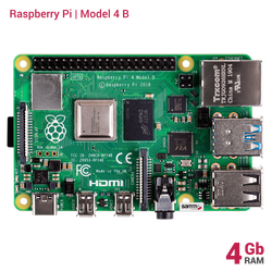 Raspberry Pi - Raspberry Pi 4 - 4GB