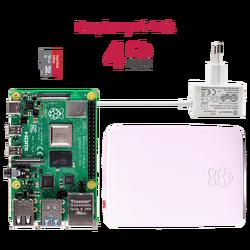 Raspberry Pi 4 4GB Starter Kit - Thumbnail