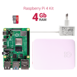 Raspberry Pi 4 4GB Starter Kit - Thumbnail