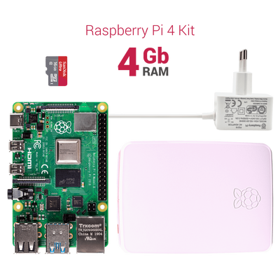 Raspberry Pi 4 4GB Starter Kit