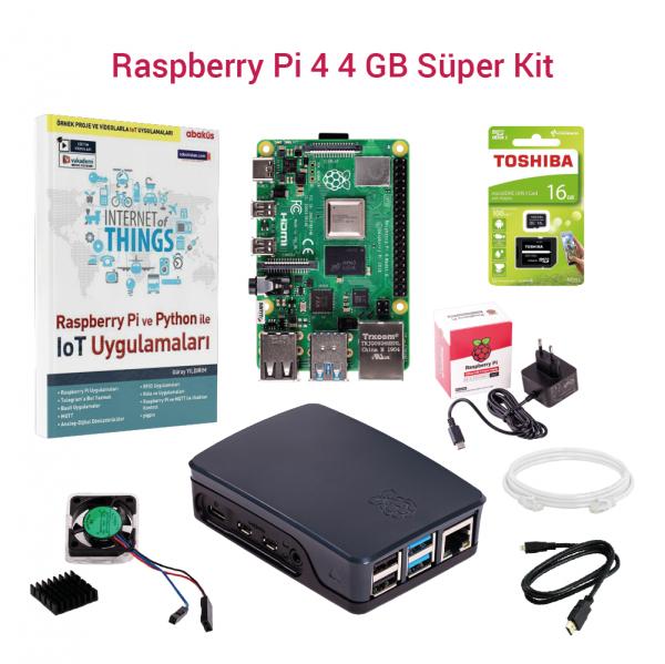 SAMM - Raspberry Pi 4 4GB Süper Kit