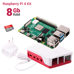 Raspberry Pi - Raspberry Pi 4 8GB Starter Kit