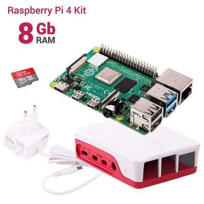 Raspberry Pi 4 8GB Başlangıç Kiti