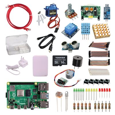 Raspberry Pi 4 - 8GB Elektronik Set
