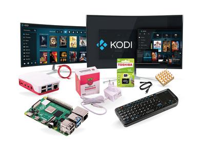 Raspberry Pi 4 - 8GB Media Center Kiti