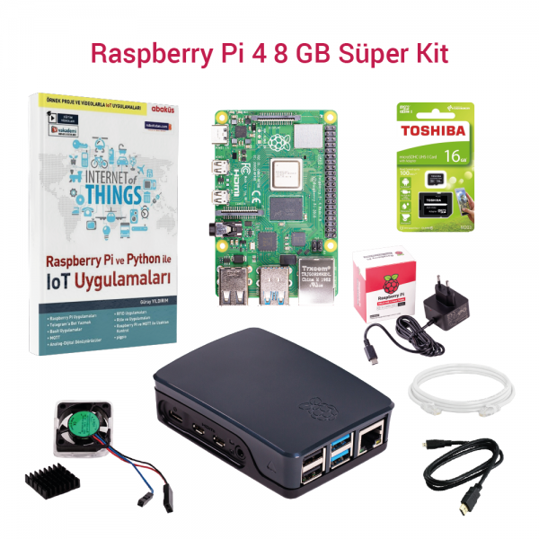 SAMM - Raspberry Pi 4 8GB Super Kit